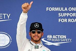 澳大利亚大奖赛排位赛:汉密尔顿夺得杆位