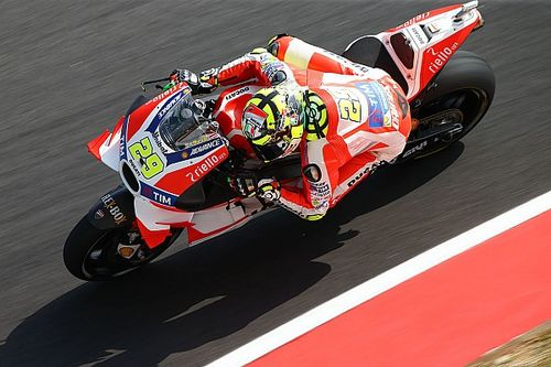 "Iannone ""preferred not to risk"" riding in second practice"