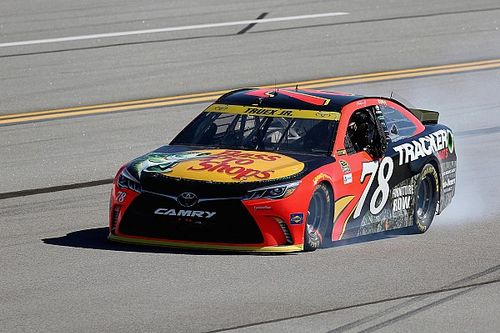"""Engine failure sidelines Truex at Talladega: """"It's part of life, part of racing"""""""