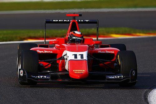 Spa GP3: Aitken survives three restarts for maiden victory