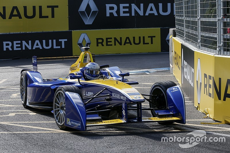 Prost wins from Senna in London to take Formula E titles down to the wire