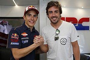 Márquez escogería a Fernando Alonso como compañero de equipo