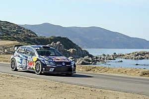 Corsica WRC: Ogier on brink of fourth title with victory