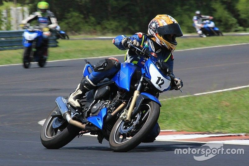 Chennai TVS Apache 200: Kannan doubles up with commanding wins