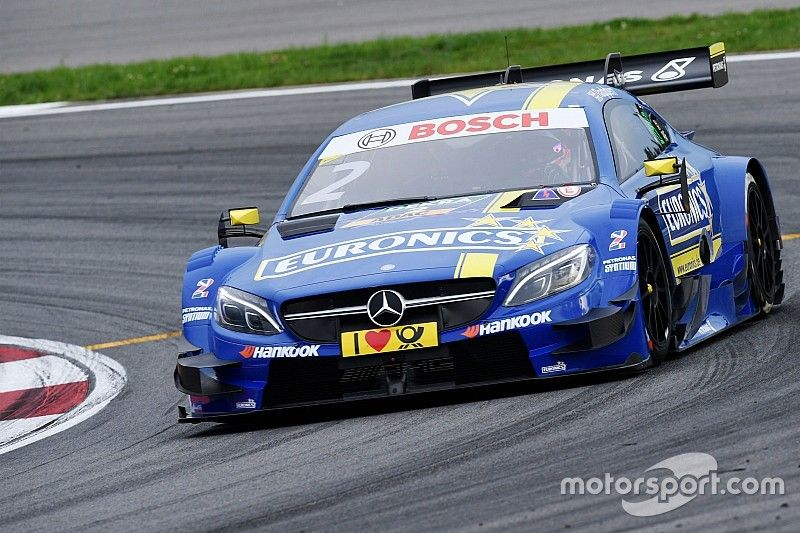Moscow DTM: Paffett heads Mercedes 1-2-3-4 in wet Saturday qualifying