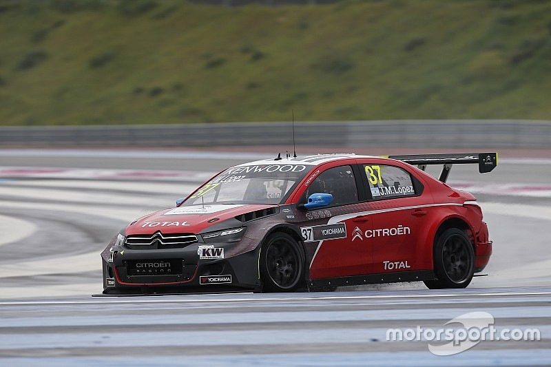 Paul Ricard WTCC: Lopez holds off Monteiro to win main race