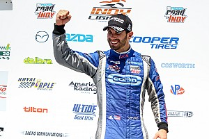 Indy Lights Race report Serralles takes second win of the year at Iowa