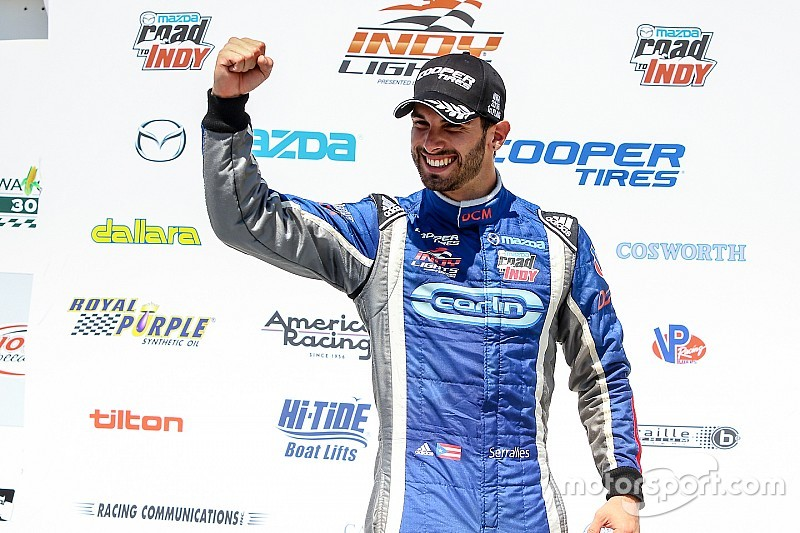 Serralles takes second win of the year at Iowa