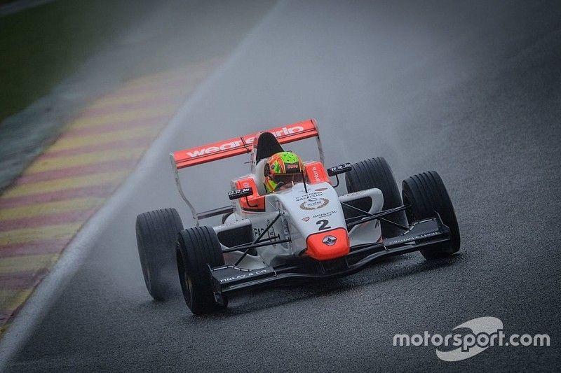 Spa NEC: Norris controls wet Race 1