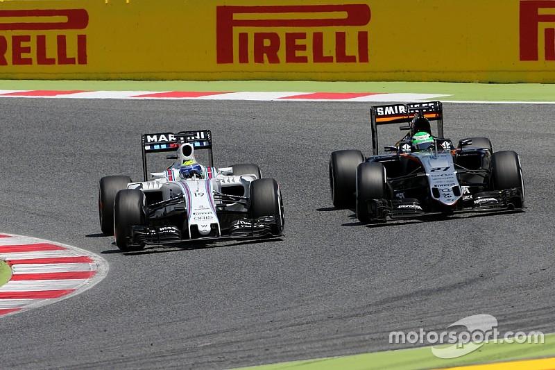 Williams – мета Force India у Кубку конструкторів