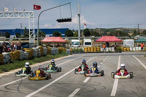 Uşak pisti karting ile renklendi