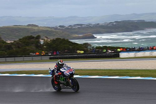 """Lorenzo admits: """"I was lucky to even make Q2"""" at Phillip Island"""