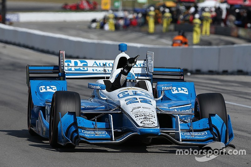 Pagenaud fights back, beats Power in Mid-Ohio