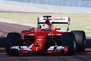 Pirelli опубликовала первые фотографии с тестов широких шин