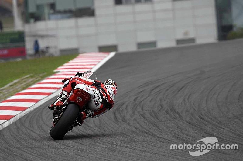 中上貴晶「たくさんのライダーを抜いて先頭集団に迫るつもり」:Moto2マレーシア予選
