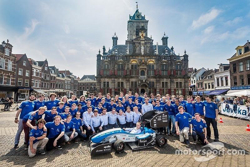 TU Delft verdedigt titels in competitie met elektrische raceauto's