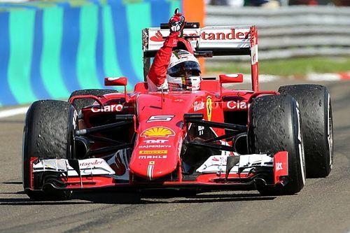 F1 tarihinde bugün: Vettel, Ferrari ile Macaristan'da kazanıyor