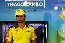 Em volta perfeita, Thiago Camilo fecha treino 2 na frente