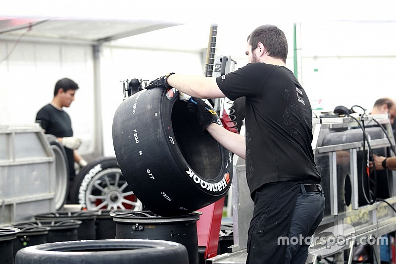 A Hankook már pályán is teszteli az F1-be szánt abroncsokat