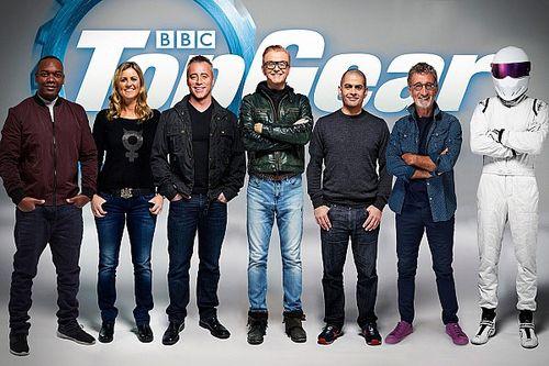 'Spanning om te snijden op redactievloer Top Gear'
