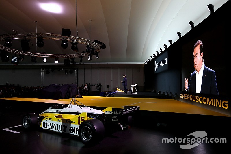 Renault F1 ne se sent pas menacé par l'affaire Ghosn