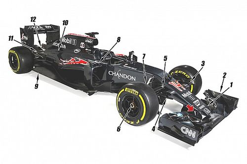 Tech analysis: The 12 key changes on the McLaren MP4-31