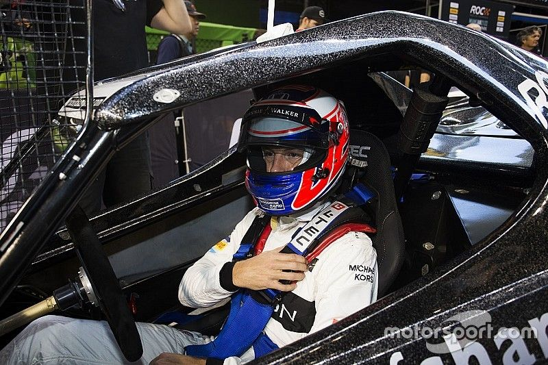 """Button admits he's got """"so much to learn"""" about rallycross"""
