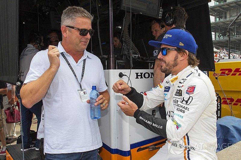 De Ferran: Adoraria trabalhar de novo com Alonso na Indy 500
