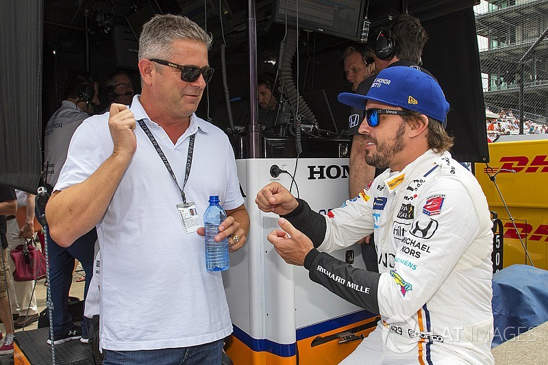 """De Ferran: """"I'd love to work with Alonso at Indy again"""""""