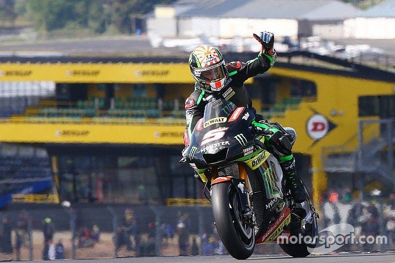 Rossi, Zarco'nun Le Mans'ta galibiyet mücadelesi vermesini bekliyor