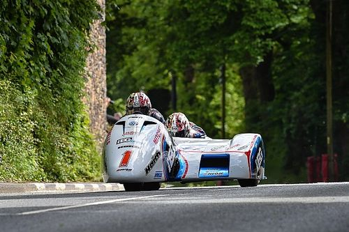 Isle of Man TT: Records tumble as Birchalls win first Sidecar race