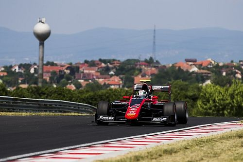 Fukuzumi tops second day of Hungaroring GP3 test