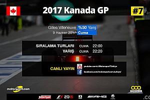 FORMULA 1 LİGİ Son dakika 2017 Kanada GP Sanal Turnuva: Canlı Yayın