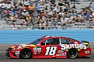 Phoenix victory slips away from Busch after Logano's crash