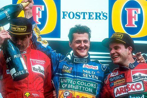 25 anos: Barrichello conquistava 1º pódio em último GP antes de morte de Senna