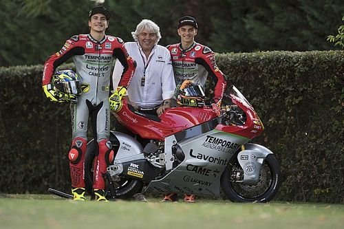 "A Misano ""livrea Giacomo Agostini"" per il Forward Racing Team"