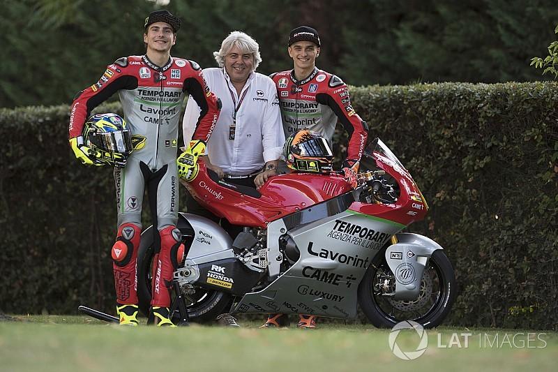 "A Misano ""livrea Giacomo Agostini"" per il Forward Racing Team"