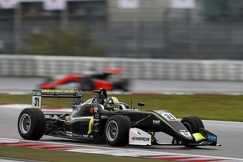 F3 Nürburgring: Norris geeft masterclass in de regen