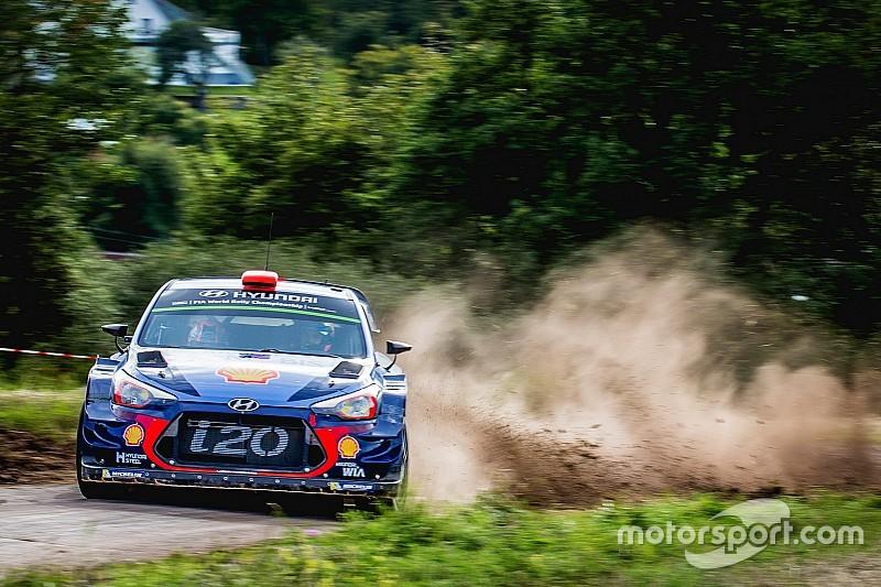 Hyundai turunkan empat mobil di WRC Britania Raya