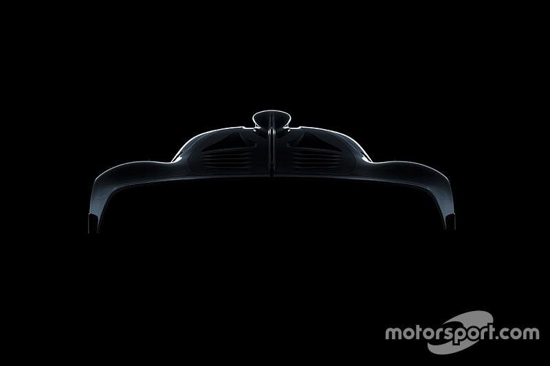 """L'hypercar Mercedes-AMG baptisée """"Project One"""""""