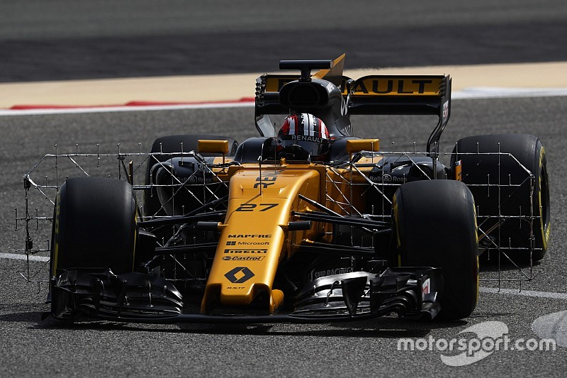 Renault si affida alla nuova ala anteriore per migliorare il passo gara