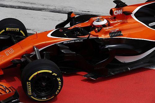 【F1】合同テスト2日目午前:マクラーレン、トラブル無しで49周走破