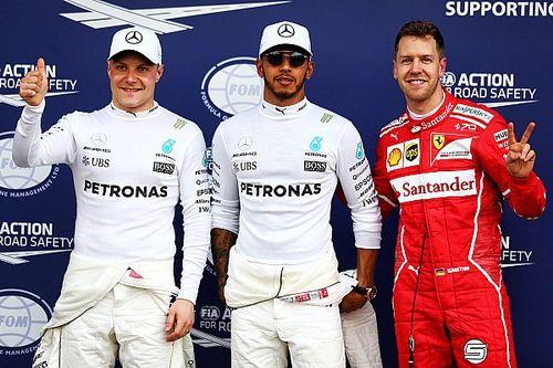 Australian GP: Hamilton takes first pole of F1 2017
