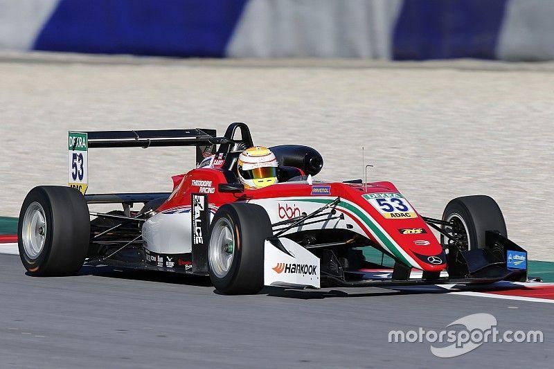 Ilott ends European F3 pre-season testing on top