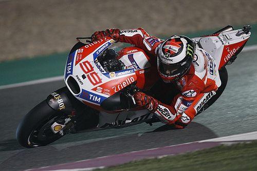 Lorenzo en Dovizioso positief na privétest Ducati in Jerez