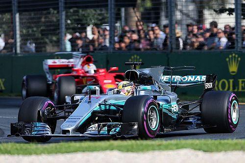 Mercedes: come perdere la calma quando c'è un avversario vero