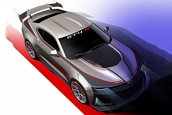 PWC Breaking news Chevrolet unveils GT4-spec Camaro