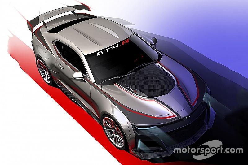 Chevrolet unveils GT4-spec Camaro