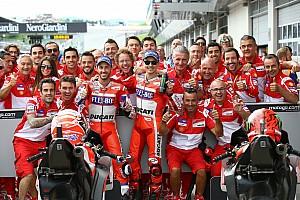 MotoGP Últimas notícias Remando contra maré, Dovizioso exalta estratégia no Q2