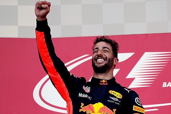 F1 Reporte de la carrera Ricciardo gana una carrera loca con polémica entre Hamilton y Vettel